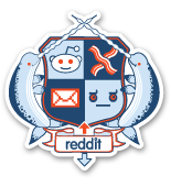 Coat of Arms reddit sticker