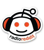radio reddit sticker