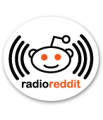 radio reddit oval sticker