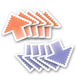 upvote, downvote sticker pack