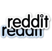 reddit Logo Sticker