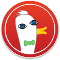 DuckDuckGo Picasso Sticker