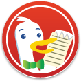 DuckDuckGo Human Rights Sticker