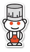 redditgifts Cookbooks Sticker
