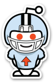 reddit football sticker